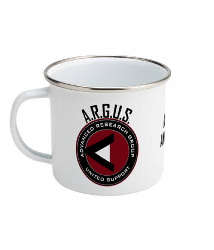 ARGUS Agent Personalised Enamel Mug 10oz From Arrow
